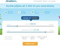 Kredito24 - rychla pujcka po internetu ihned